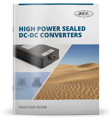 High Power Sealed DC-DC Converter SELECTOR GUIDE